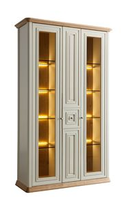 Romantica showcase 7519, Classic showcase with integrated lighting