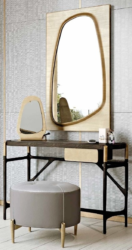 AFRODITE dressing table GEA Collection, Dressing table with drawer, marble top