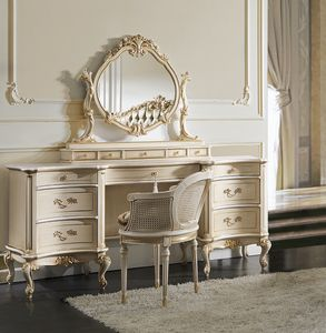 ART. 2855L, Classic dressing table in lacquered wood