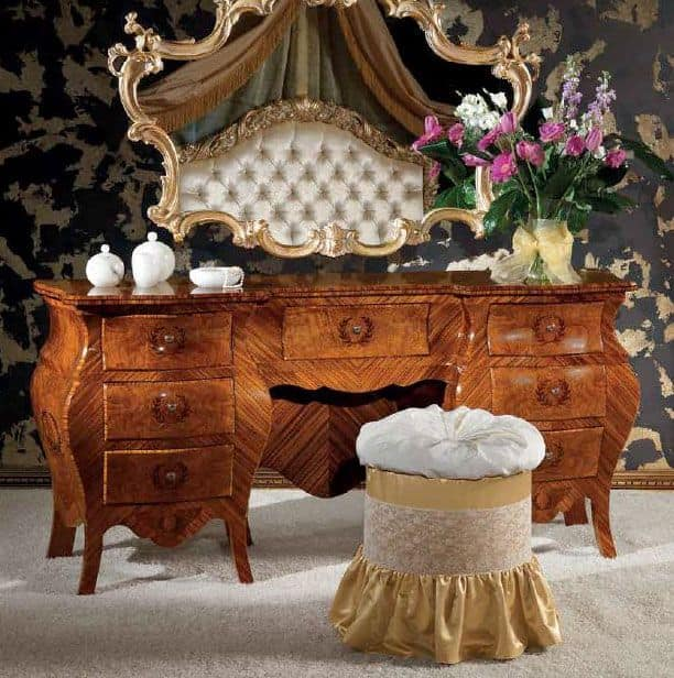 Art. 373, Dressing table with wooden drawers, classic style