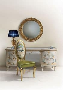 Calipso C/594, Hand decorated dressing table, Classic, for bedroom