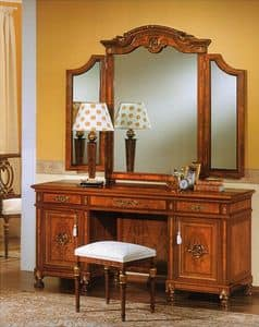 DUCALE DUCVA / Vanity, Dresser made of wood ash, hand decorated