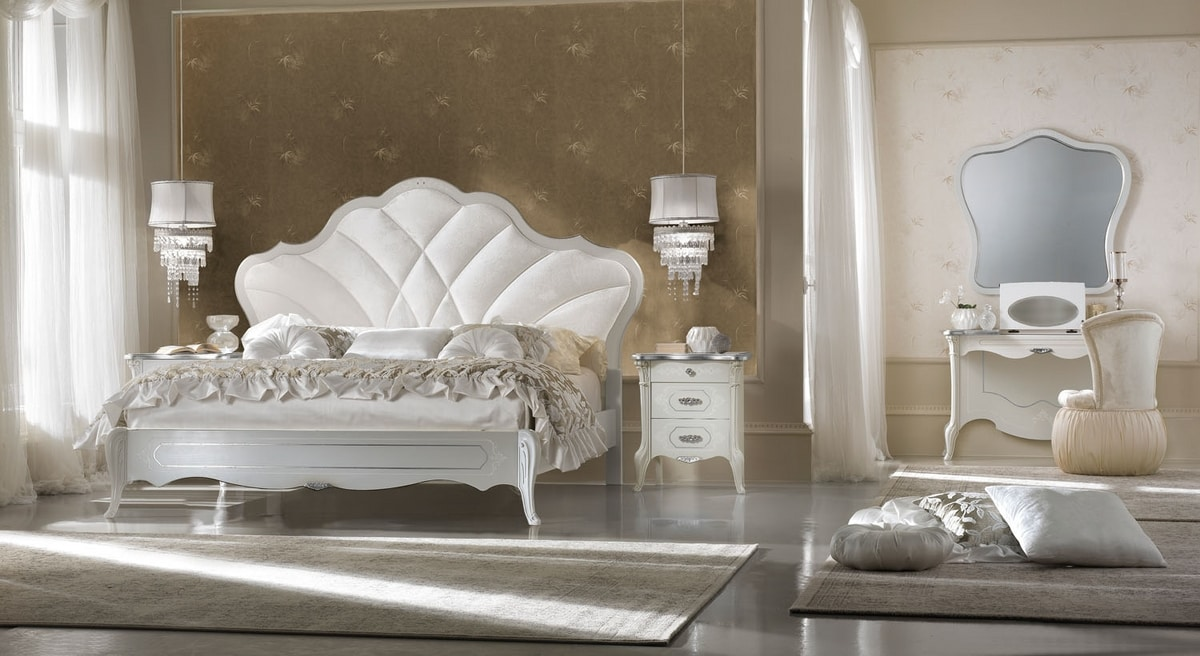Giulietta Art. 3307 - 3407, Handcrafted decorated dressing table