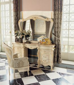 Opera dressing table, Make-up table, in classic style
