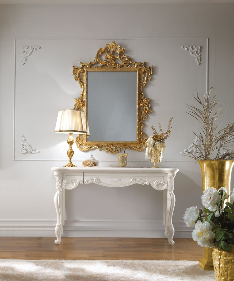 Puccini Art. 7507, Elegant carved dressing table
