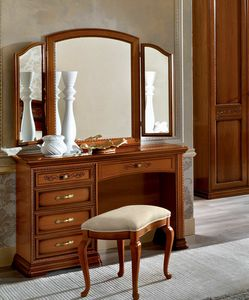 Torriani dressing table, Classic style make-up table