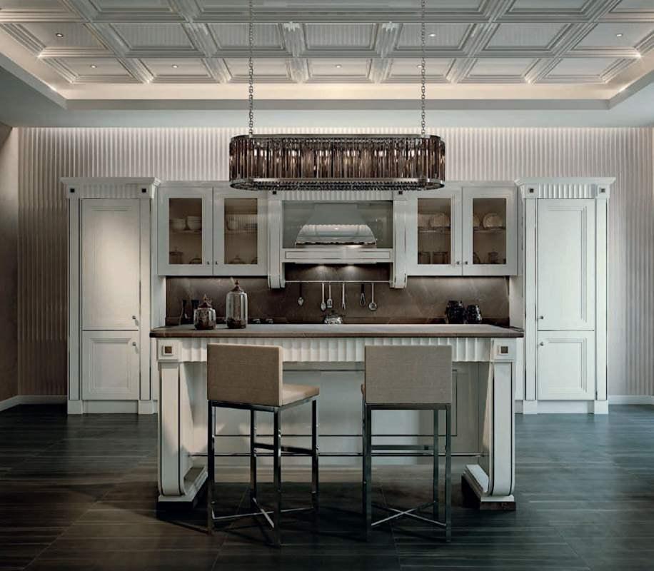 Fifth Avenue kitchen, Luxurious kitchen with island