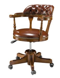 1480V2, Swivel leather chair