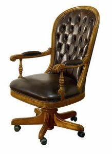 Follonica ME.0955, Classic office armchair, outlet price