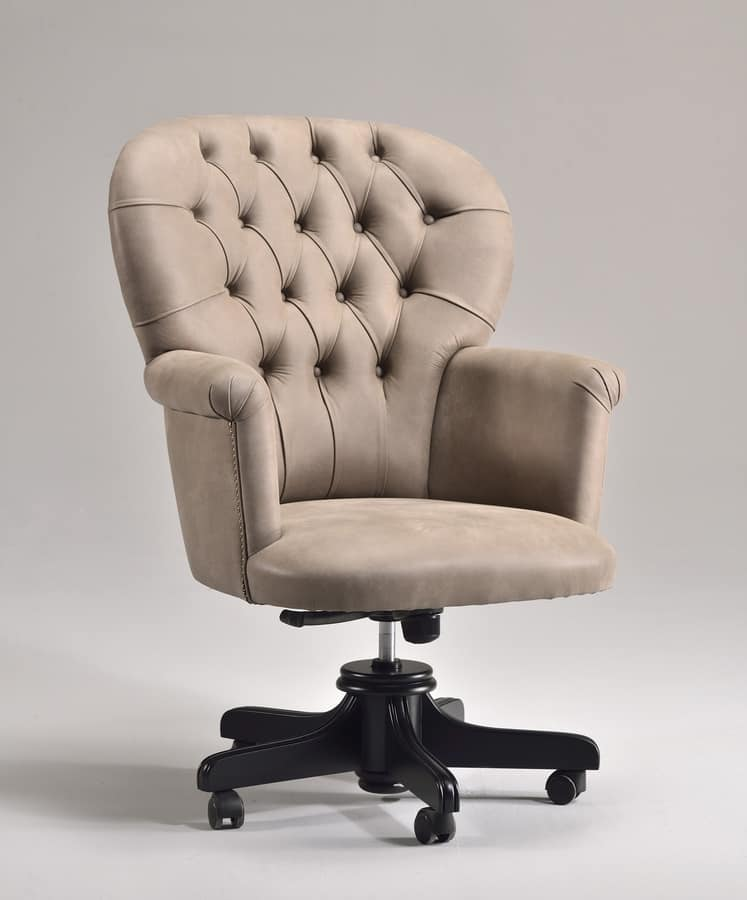 presidential office chair on wheels quilted idfdesign