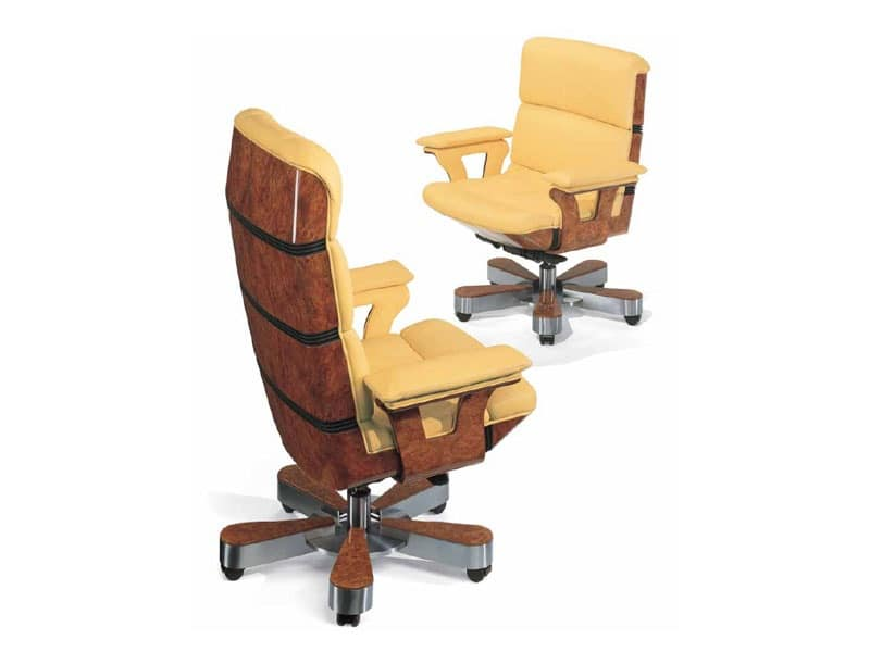 Hergo, Classic Style Office Chair Luxury Offices