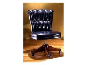Kiev, Luxurious office chair in leather
