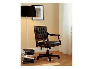 LUIGI XVI QUADRA office 8223A, Luxury presidential office chair, tilting mecanism