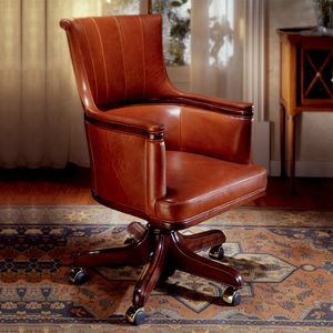 REAGAN, Executive office armchair in leather