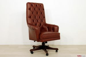 Senior, Presidential office armchair, with high back