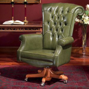 TRUMP, Presidential office chair, in leather