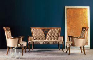 250D, Elegant classic sofa