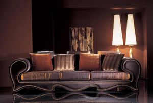 276D, Classic sofa with harmonious lines