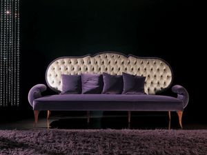 286D, Buttoned sofa, in classic style