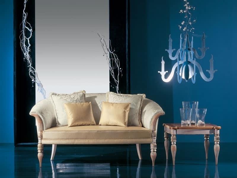 288D, Classic luxury small sofa