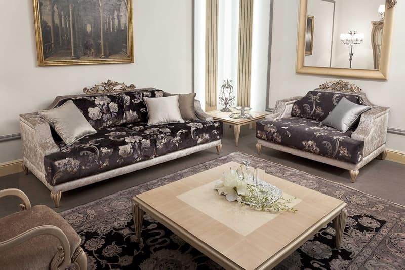 337D, Classic luxury sofas for living room