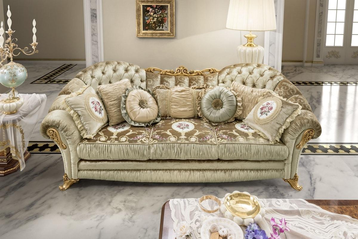 Aida sofa, Luxurious and comfortable classic sofas