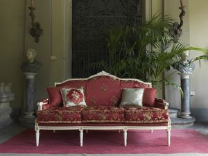 Alice sofa, Sofa with Louis XVI classic style