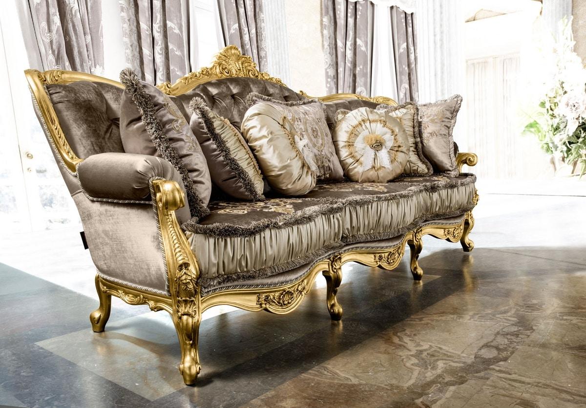 Anastasia sofa, Luxurious tufted sofa