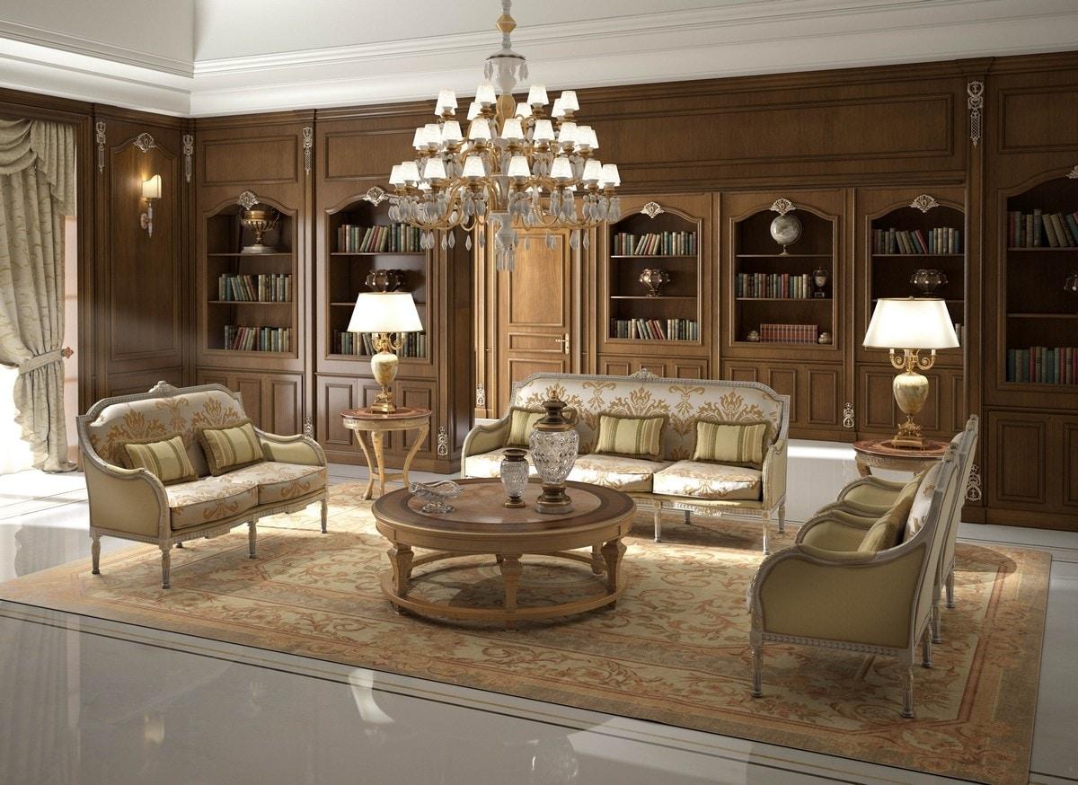 Art. 28/3, Elegant classic sofa