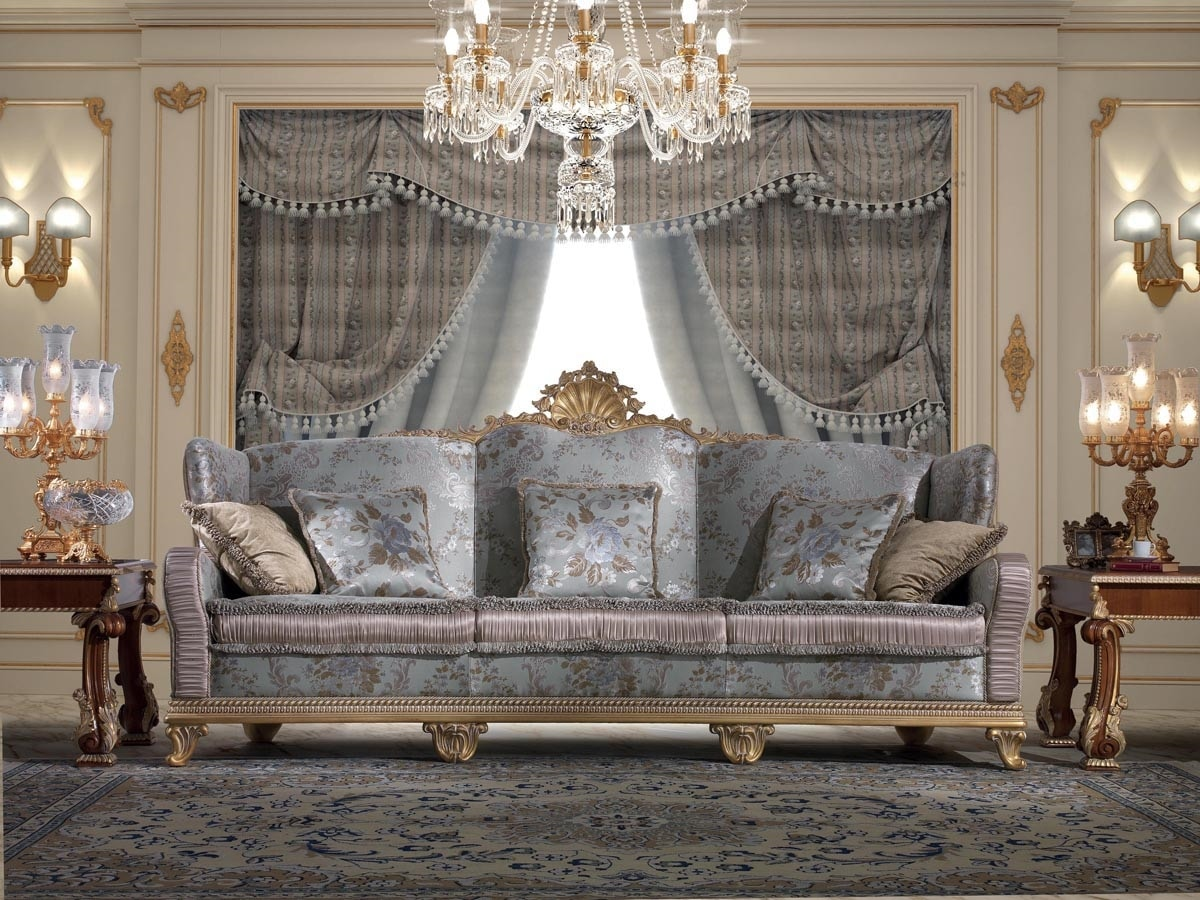Art. 981, Classic style sofa, carved