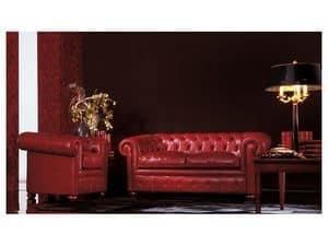 Chester, Classic sofa suitable for living room