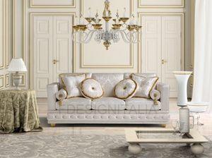 Dal�, Luxury fabric sofa