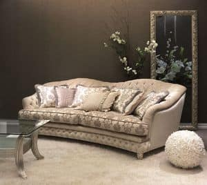 Denver Capitonn� Sofa, Quilted sofa for classic luxury living room