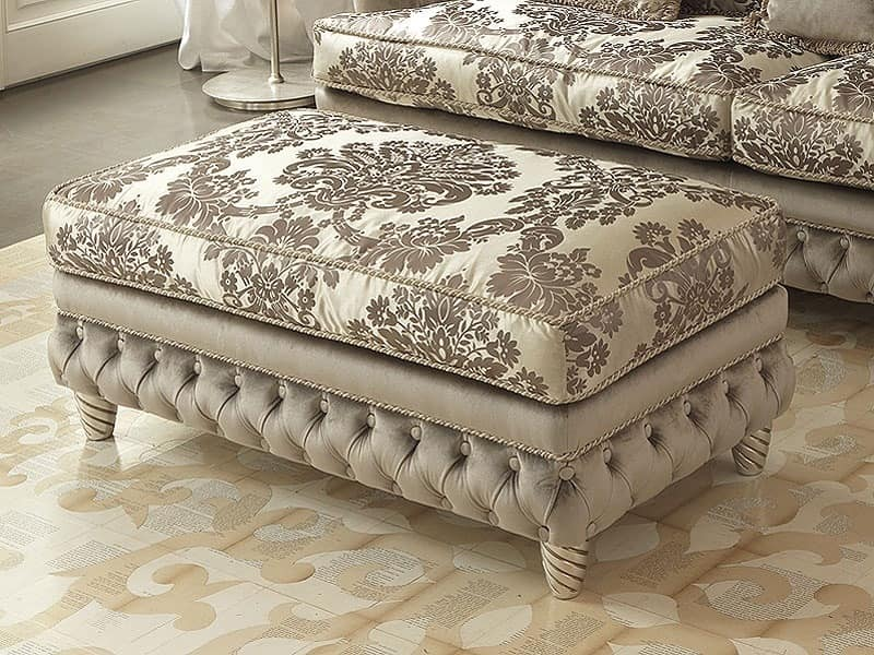 Denver Capitonnè Sofa, Quilted sofa for classic luxury living room