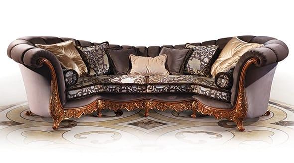 Sofa 5795, Classic sofa with high back
