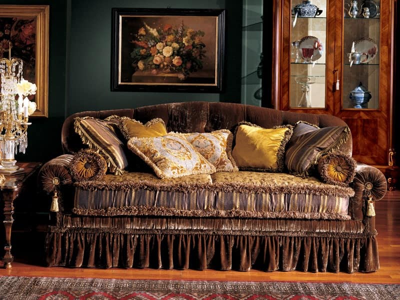 Elena sofa, Luxury classic sofa