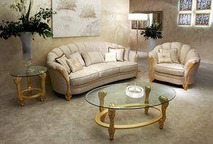 Elettra, Classic handmade sofa