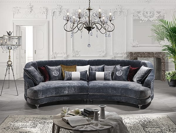 ELISIR comp.01, Semicircular modular sofa