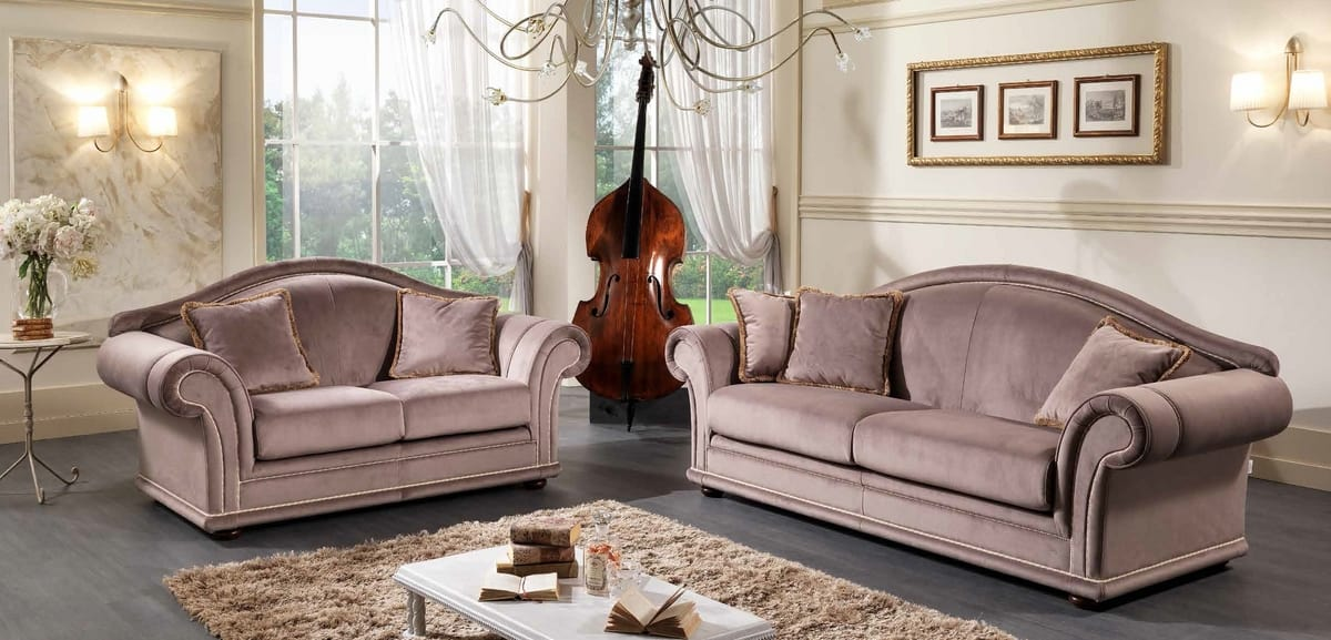 ETOILE, Classic style sofa and armchair