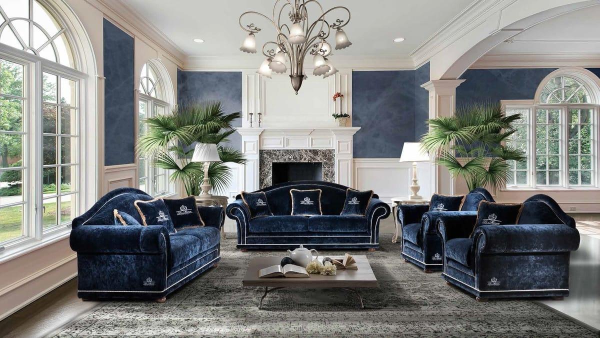Classic style sofa and armchair | IDFdesign