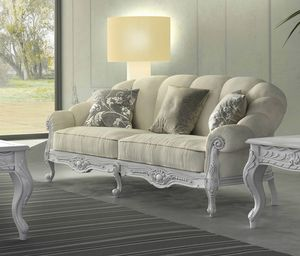 Giada Art. 2911 - 2921, Handcrafted carved sofas