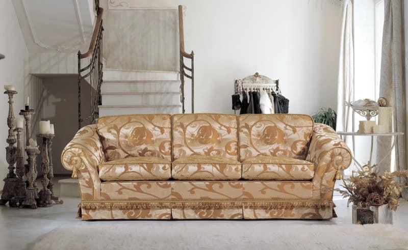 Giada, Luxury classic sofa Sitting rooms