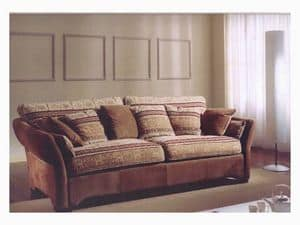 Ginevra Sofa, Classic style sofa for sitting room