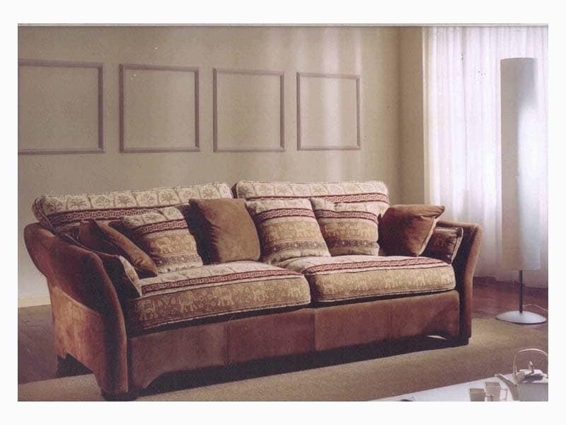 Ginevra Sofa, Classic style sofa for sitting room
