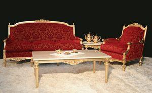 Impero classic sitting room, Elegant Empire-style living room