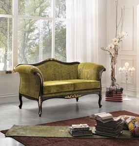 Inglese sofa 2 seater, Elegant classic sofa