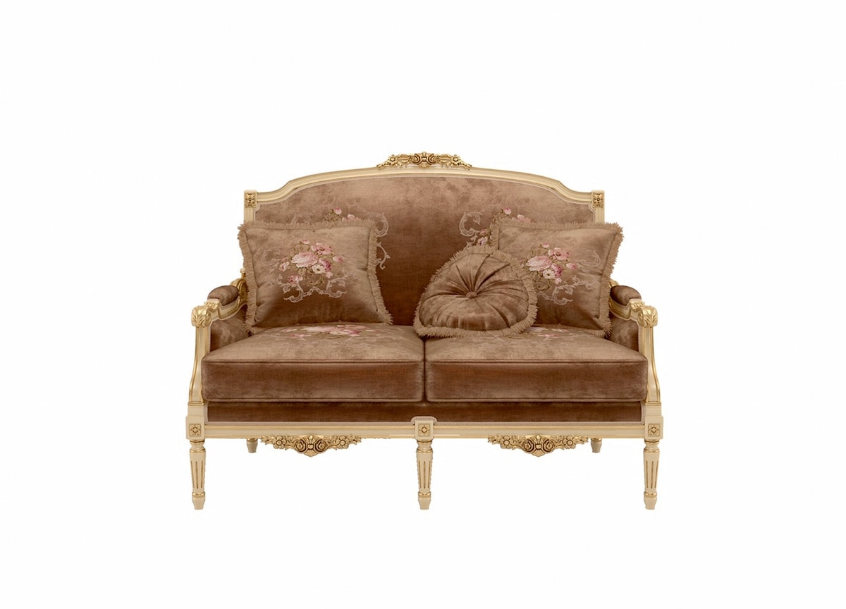 Louvre sofa, Classic style sofa