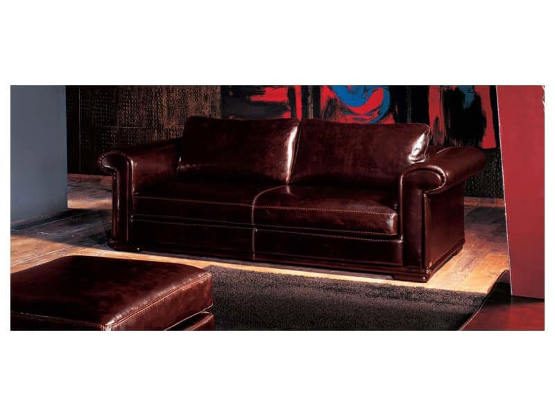 Superieur Luxor, Classic Style Sofa, Padded With Goose Down