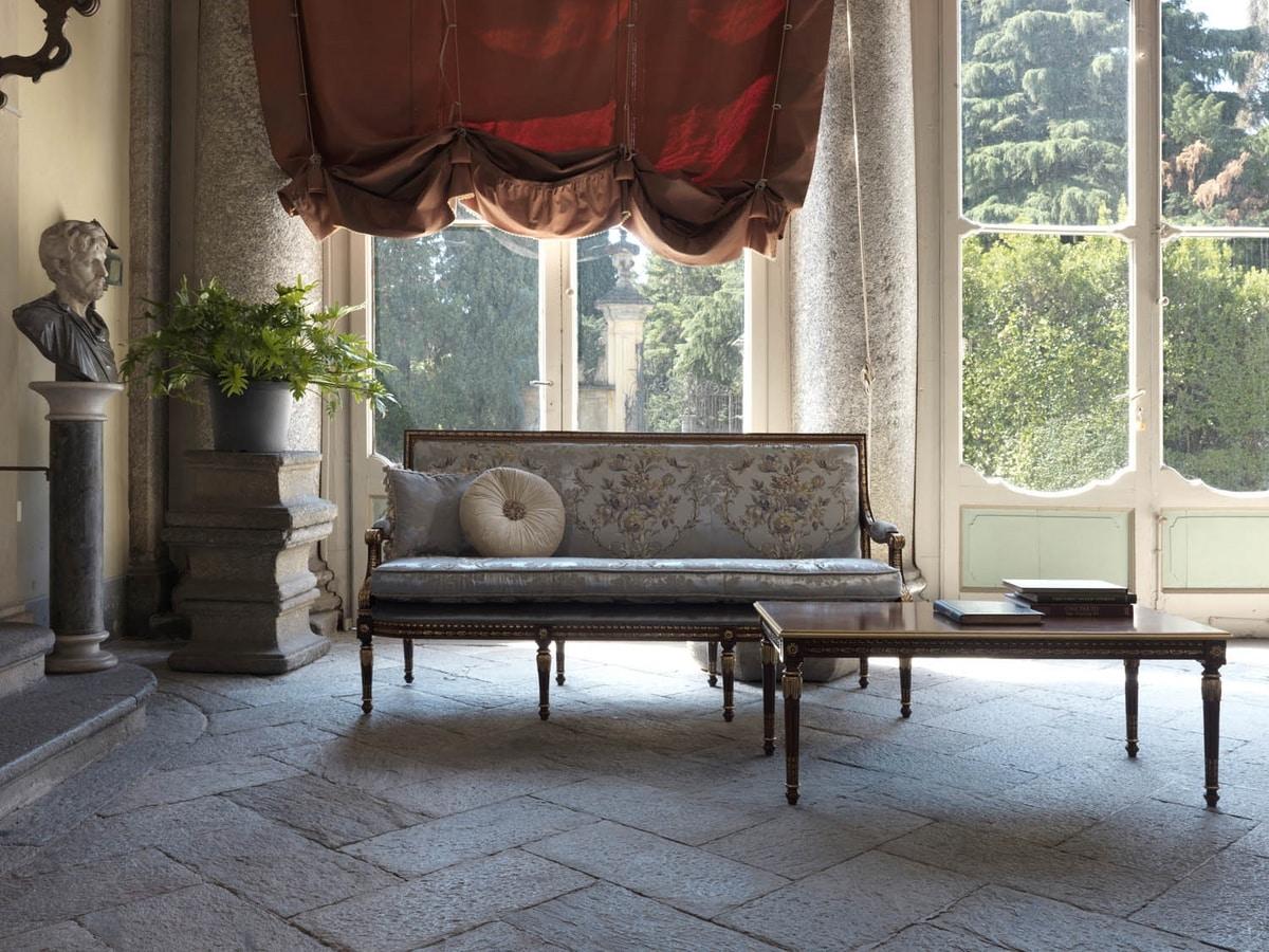 Margherita sofa, Sofa with capitonné back side