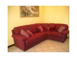 Maximum Sofa, Sofa in red fabric, for residential use